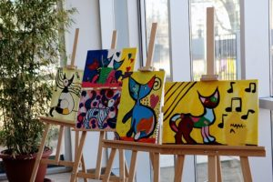 Gallery of paintings of cats